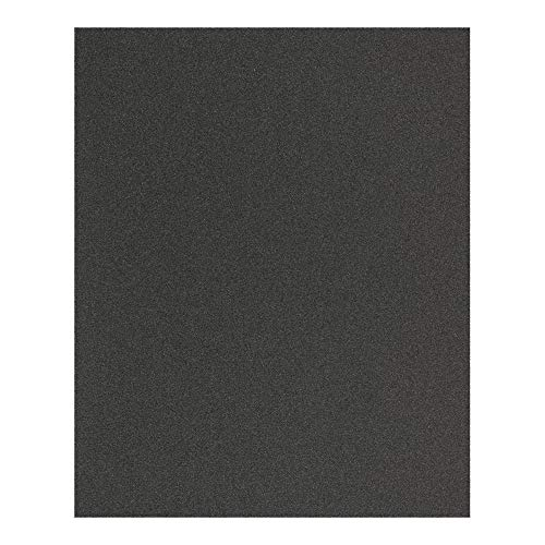 PFERD 45098030 Gewebe Schleifbogen, 10 Stück 230x280mm universell für Holz, Farbe & Lack, Korund A120, Blattware (VE