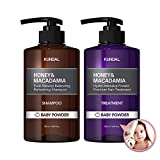 [KUNDAL公式]プレミアムヘアケアスペシャルセット・シャンプー500ml&トリートメント500ml Premium Hair Care Special SET (ベビーパウダー Baby Powder)