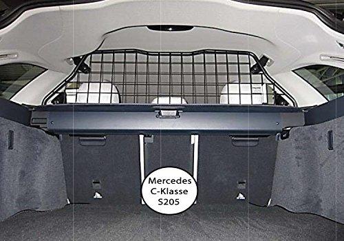 Kleinmetall Masterline passend für Mercedes C-Klasse T-Modell Kombi (Typ S205) passgenaues Trenngitter/Hundegitter/Gepäckgitter