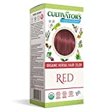 Cultivator's Organic Herbal Hair Colour - Red 100g