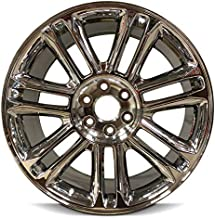 Road Ready Car Wheel For 2007-2014 Cadillac Escalade Cadillac ESV Escalade 2007-2013 Cadillac EXT Escalade 22 Inch 6 Lug chrome Rim Fits R22 Tire - Exact OEM Replacement - Full-Size Spare
