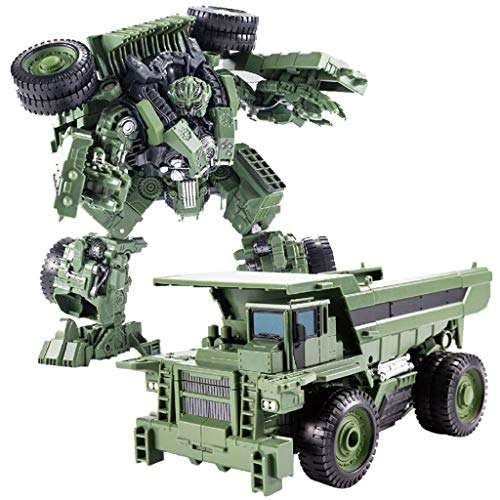 siyushop Transformers Juguetes, Robot De Deformación De Camiones Cargadores, Robots De Rescate De Los Héroes, Robot Deformado del Automóvil, Modelo De Deformación Manual Juguetes para Niños