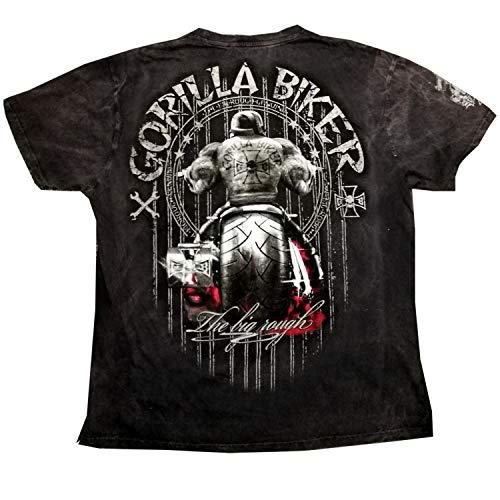GB50V Gorilla Biker Herren Vintage Spezial Shirt Größe 3XL, Farbe Darkgray
