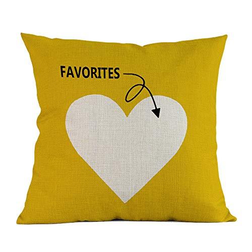 Cojín amarillo con diseño moderno - Cojines amarillos baratos