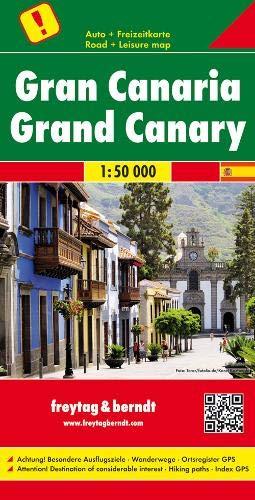 Gran Canaria, Autokarte 1:50.000, Freytag-Berndt Autokarten (freytag & berndt Auto + Freizeitkarten)