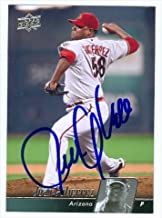 Autograph Warehouse 34265 Juan Gutierrez Autographed Baseball Card Arizona Diamondbacks 2010 Upper Deck Baseball Card