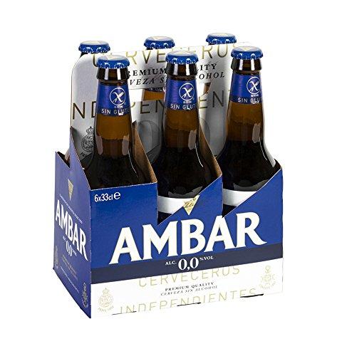Ambar 0% Celiacos Cerveza, 6 x 330ml