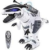 SGILE RC Dinosaur Robot Toy, Smart Programmable Interactive Walk Sing Dance for Kids Gift Present