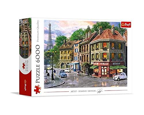 Trefl 650013 6000 Puzzle, Farbig