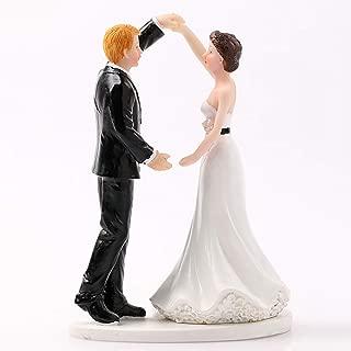Best wedding cake topper groom running away Reviews