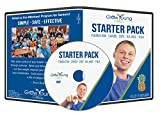 Grow Young Fitness Chair Exercises for Seniors - Starter Pack DVD Foundation - Cardio - Core - Balance - Yoga - Easy Safe Effective Workout DVD for Elderly