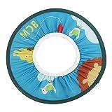 Doccia Cap per Bambino Baby Shower Cap Panno Impermeabile Ragazzo Berretto per lo Shampoo Elastico Neonato Cappello di Protezione Balneare (Blu)