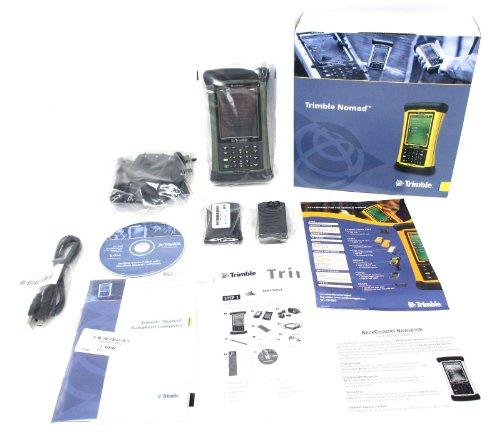 Find Discount Trimble Nomad 800L Green Bluetooth WiFi GPS Waterproof Handheld Data Collector PC