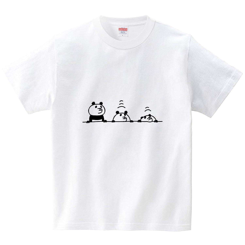 沈むパンダ(Tシャツ?ホワイト) (オワリ)