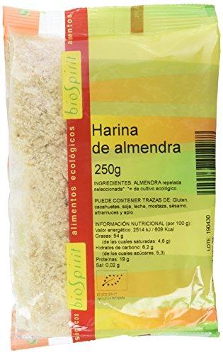 Biospirit Harina de Almendra de Cultivo Ecológico - 250 gr