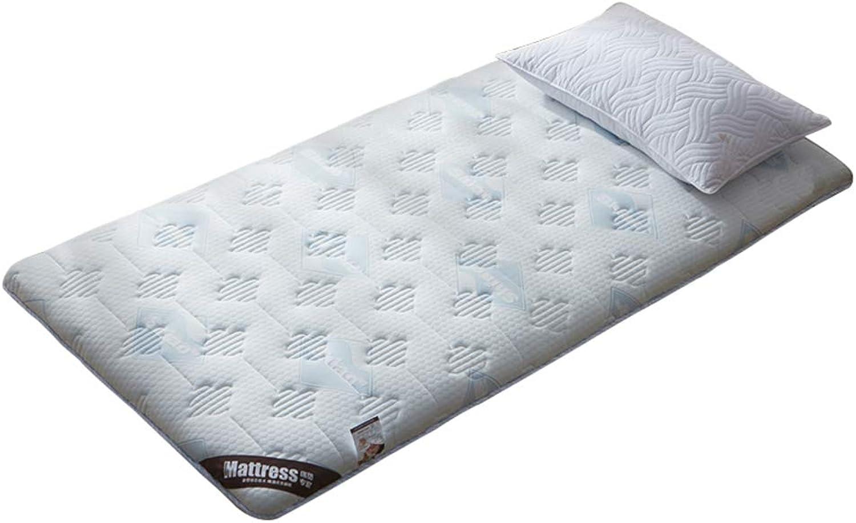 Thickening Folding Tatami Mattress, Warm Cotton Mattress Topper Student Dormitory Ground Floor Sleeping pad-D 100x200cm(39x79inch)