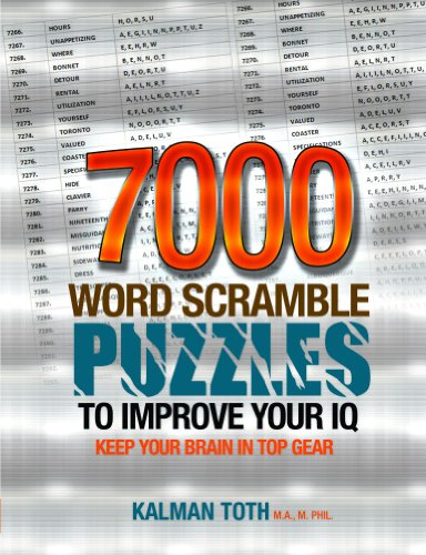 7000 Word Scramble Puzzles to Improve Your IQ (English Edition)