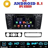 Android 8.1 GPS DVD USB SD Wlan Bluetooth Autoradio Navi kompatibel mit BMW Serie 3 BMW E90 BMW E91 BMW E92 BMW E93