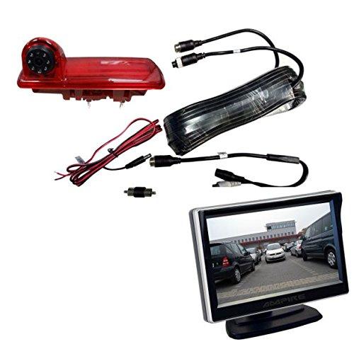 Ampire Rückfahrkamera Monitor Set Opel Vivaro Renault Traffic Nissan NV300