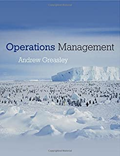 Operations Management by Andrew Greasley (2006-01-18)