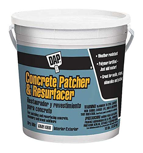 Concrete Patcher and Resurfacer 10 lb. Gray Patch and Resurfacer