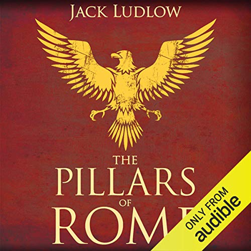 The Pillars of Rome audiobook cover art