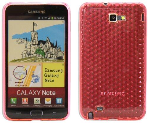 Luxburg® Diamond Design Funda Protectora para Samsung Galaxy Note GT-N7000 en Color...