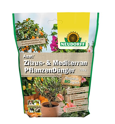 Neudorff 01214 Azet Mediterranpflanzendünger, 750 g