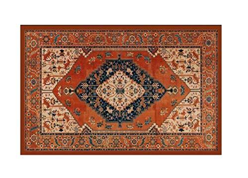 HomeLife Tapis style persan/oriental lavable pour salon/chambre/salon avec fond antidérapant et impression numérique d