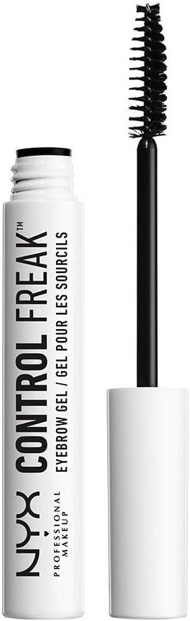 NYX Professional Makeup Fijador de cejas Control Freak, Gel fijador transparente