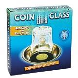 Zaubertricks und Zauberartikel Coin Thru Glass - Münze durchdringt Glas Zaubertrick, Lassen Sie eine geliehene Münze den Boden eines Glases durchdringen, Magnete oder Klappen, Zaubern Lernen
