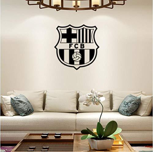 FCB Team Logo wasserdichte Wanddekoration kreatives Wandbild Papier 58 * 58cm