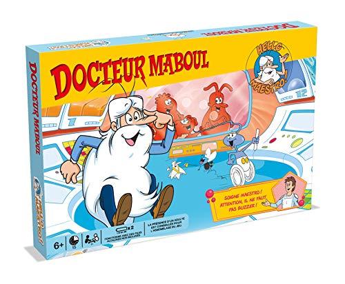 Winning Moves- Docteur MABOUL Hello Maestro LA Vie-Jeu de société-Version française, 0477