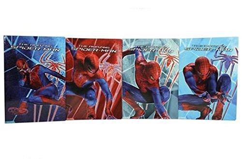 Giochi Preziosi Cuaderno DIN A4con Rayas B de Spider-Man 4, Portadas variadas.