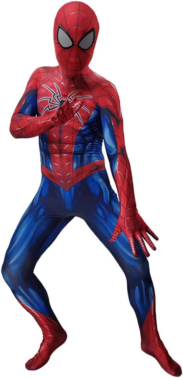 SpiderMan  Homecoming, SpiderMan Fancy Dress Costume zentai Jumpsuits Bodysuit men Halloween Christmas Show Cosplay Costume