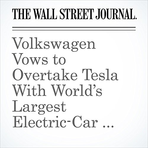 Volkswagen Vows to Overtake Tesla With World's Largest Electric-Car Fleet copertina
