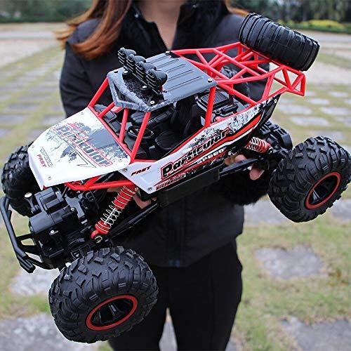 YOOYSL 1/12 4WD eléctrico de alta velocidad fuera de la carretera coche teledirigido, Fall resistentes a 2.4Ghz salvaje Escalada juguete de alta velocidad de deriva del coche recargable de la muchacha