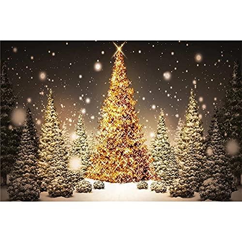 Pintura Diamante 5D Completo Adultos Árbol de Navidad 50x70cm DIY Diamond Painting taladro completo diamante bordado Punto de Cruz Diamante Craft Kit Home Wall Decor