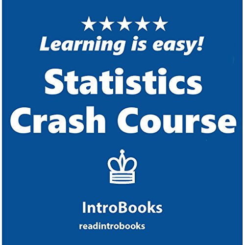 Statistics Crash Course audiobook cover art