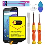 Moto X Pure Battery, (Upgraded) Euhan 3200mAh Rechargeable Li-Polymer SNN5964A Replacement Battery for Motorola Moto X Pure Edition FX30 XT1572 XT1575 Style +Repair Replacement Kit Tools