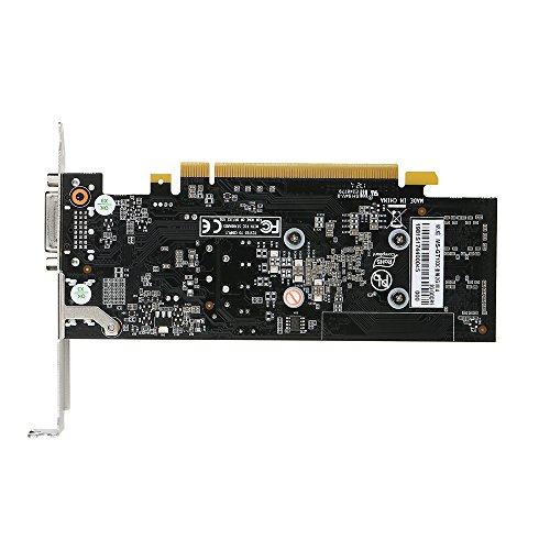 Docooler MAXSUN GeForce GT1030 Grafikkarte 2G 6000MHz GDDR5 64bit mit DVI Anschluss