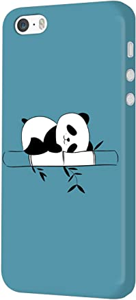 MADANYU iPhone SE/iPhone 5S / iPhone 5 Cover - Cute Sleepy Panda for Animal Lovers Designer Printed Slim Back Case Cover for iPhone SE/iPhone 5S / iPhone 5