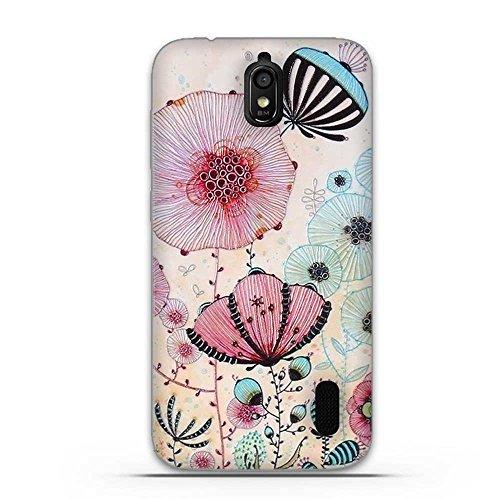 FUBAODA für Huawei Y625 Hülle, 3D Erleichterung Ästhetisch Muster TPU Case Schutzhülle Silikon Case für Huawei Y625