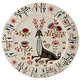 Iittala Taika Siimes Flat Plate Porcelain