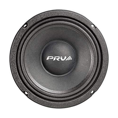 PRV AUDIO 6MR500-NDY 8 Ohms - 6.5 Inch Neodymium Midrange Speaker 500 Watts 96 dB 2' Voice Coil - Built to Perform - High Power Handling and Output - Custom Bike, Pro Audio, Car Audio System (Single)