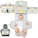 Cambiador bebé portátil XL-Cambiador plegable impermeable ideal como regalo...