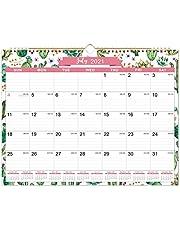 Kalendarz 2021 - 12 miesięcy kalendarz ścienny 2021, styczeń 2021 - grudzień 2021, 30 x 29 cm, wiązanie podwójne, bloki z liniami z datami Julian, idealne do planowania domu lub biura