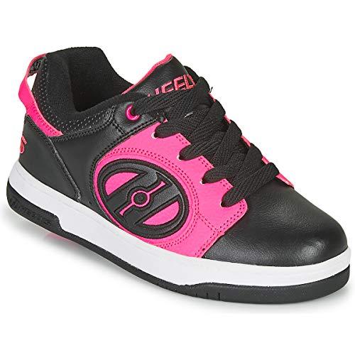 Heelys Voyager (HE100795), Zapatillas Deportivas Unisex Adulto, Black/Neon Pink, 36.5 EU