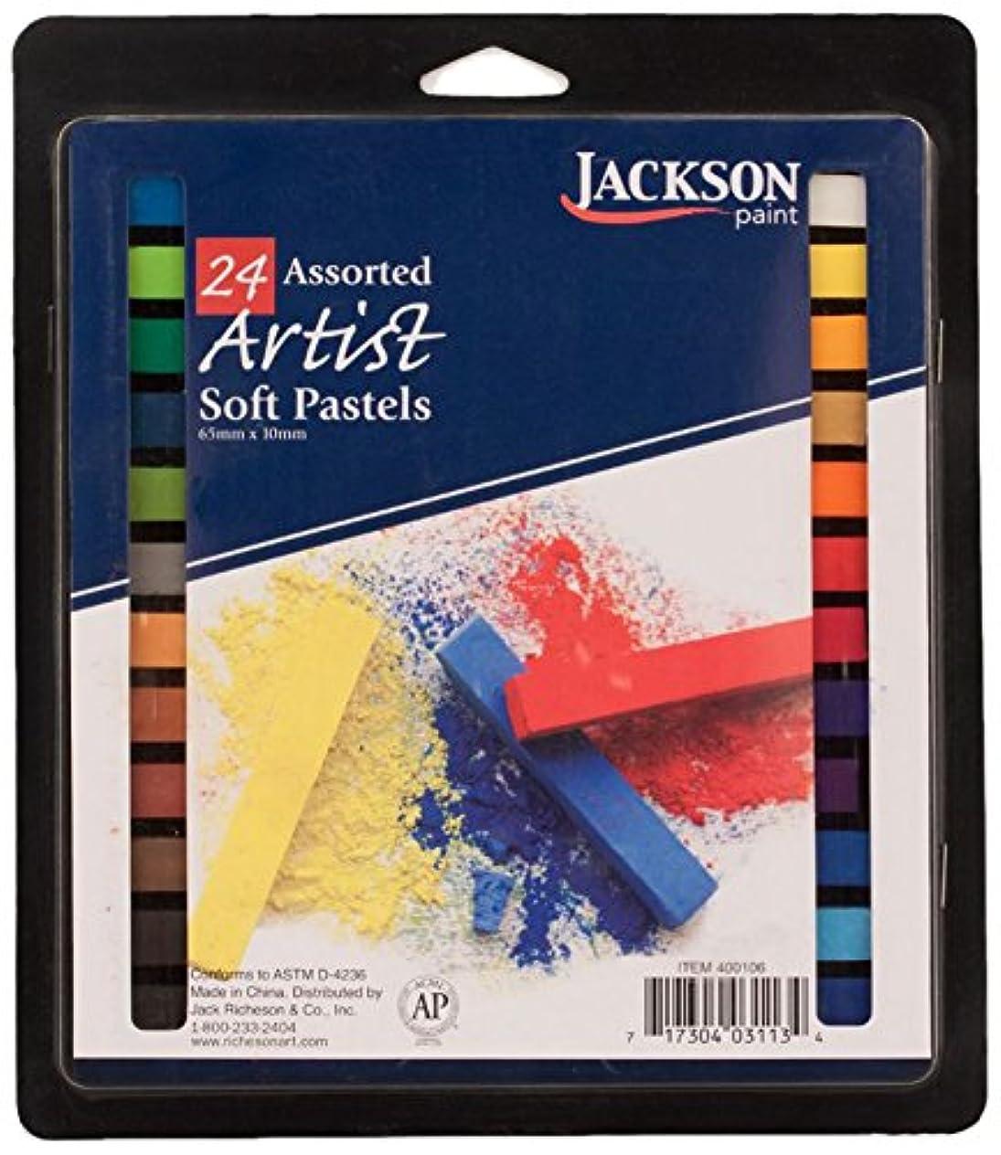 Jack Richeson Jackson Pastels (Set of 24), Assorted luvahiws030