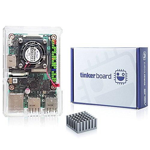 [SmartFly] Tinker Board tinkerboard RK3288 SoC 1.8GHz Quad Core CPU, 600MHz Mali-T764 GPU, 2GB Thinker Board
